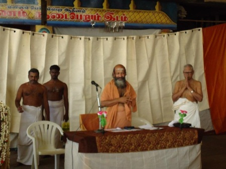 SivaGnana Balaya Swamigal at his mutt
